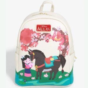 Disney Mulan Cherry Blossom Mini Backpack